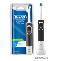 Oral-B Vitality 100 CrossAction Black Elektrische Tandenborstel BOX